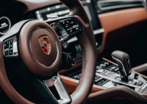 Simi Automatic transmission car interior